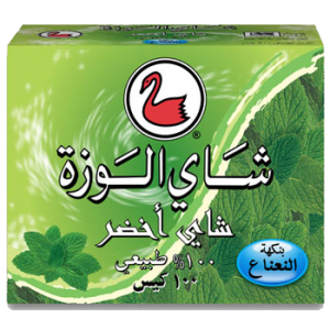 Alwazah-100-Green-Tea-with-Mint-Arabicfront