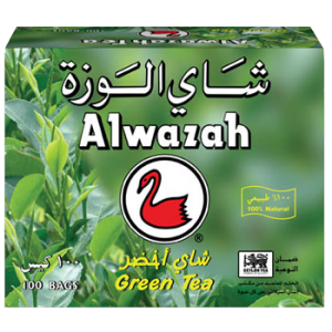 Alwazah-Green-Tea-100-Tea-Bag-Front