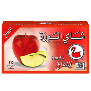 Alwazah-apple-25-Envelope-Tea-Bags-Arabic-front